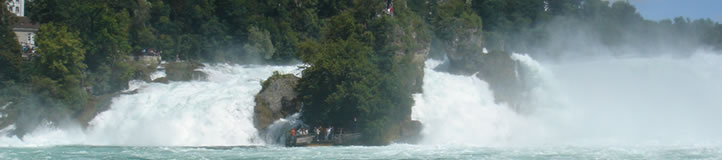 Black Forest the day tour takes you to the Rhine Falls