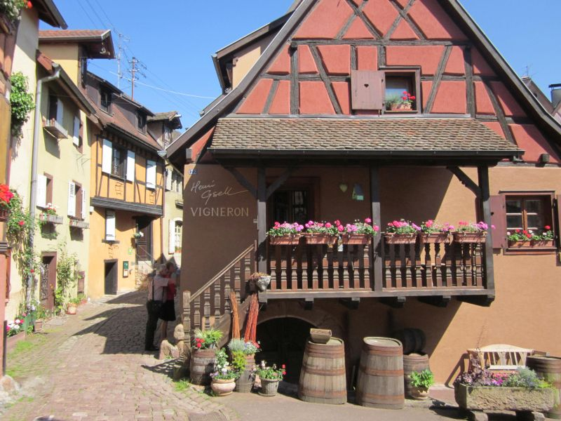 beautiful buildings in Alsace