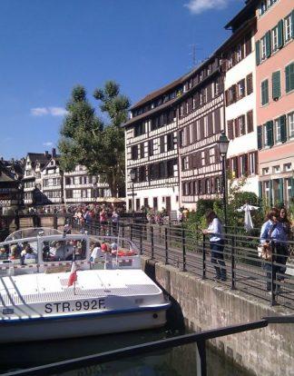 boat ride in strasbour