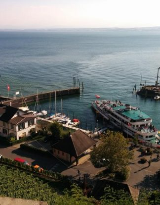 Boats tour Lake Constance