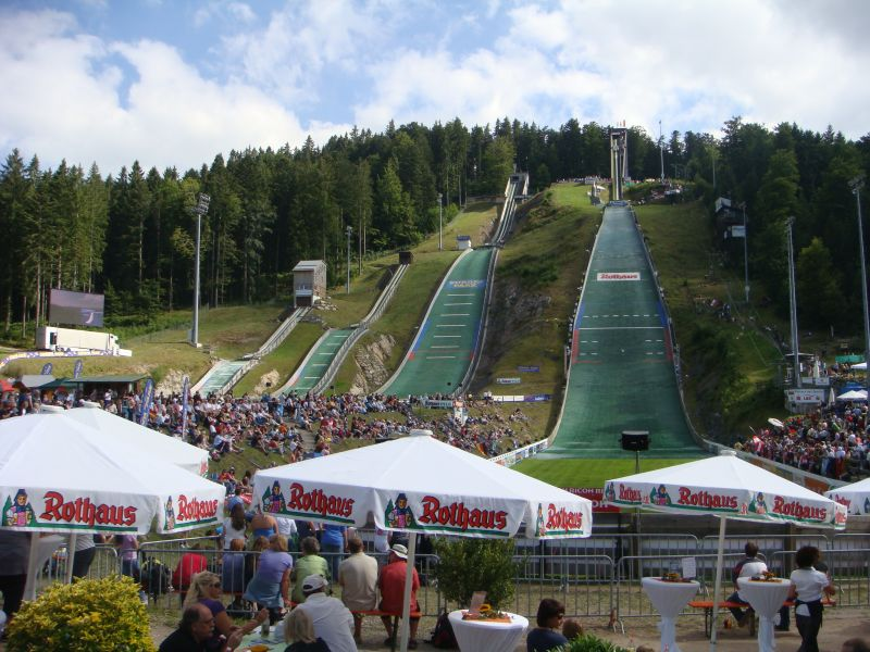 Ever watched a ski jumper?