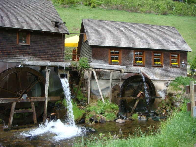 Typical Black Forest Mill