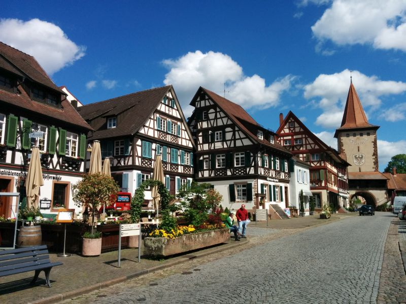 old black forest towns