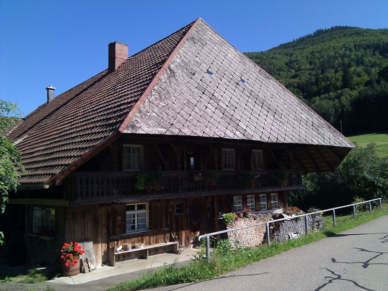 Old Black Forest farmhouse