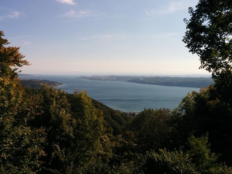 panoramic view lake constance