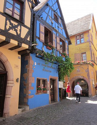 Alsace region in France