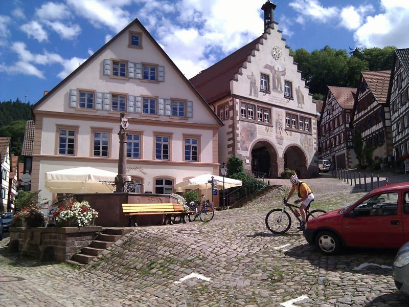 Townhall building of a Black Forest village