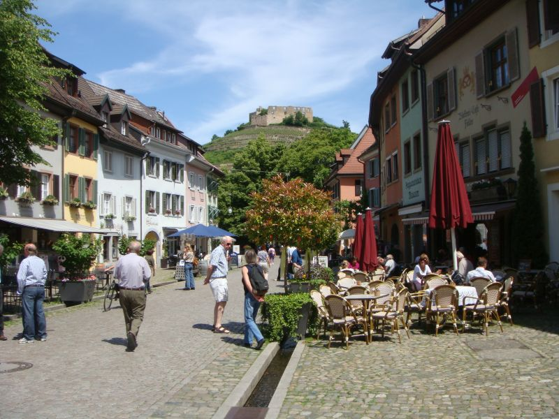 typical street in staufen