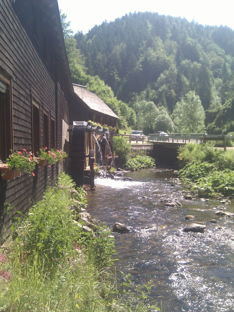 Watermills everywhere in the Black Forest