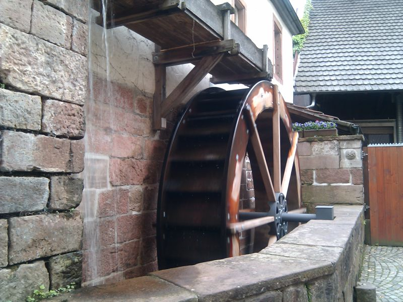 Waterwheel still working