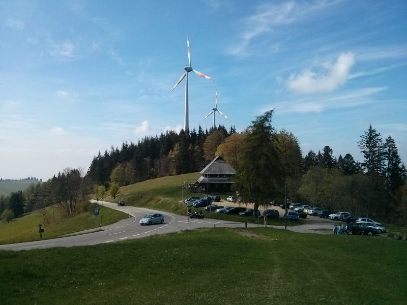 Windpower in the Black Forest