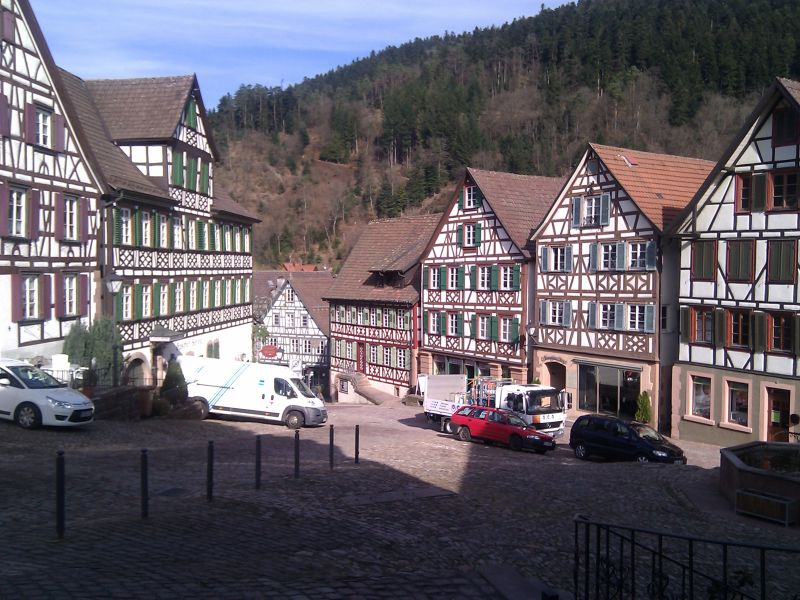 Wood-framed houses